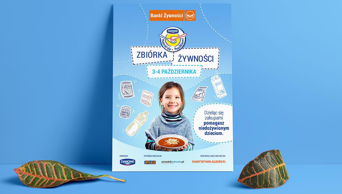 Plakat Zbiórka Żywności