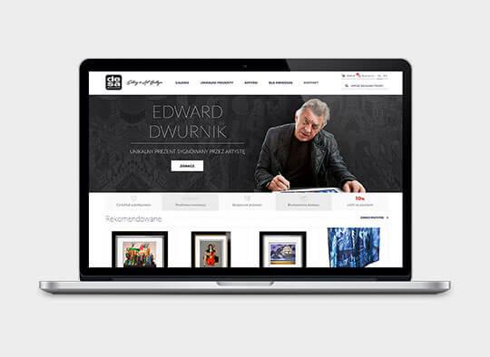 Strona internetowa Desa Modern