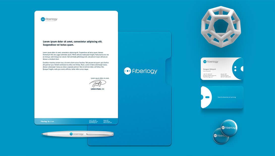 Materiały reklamowe dla Fiberlogy