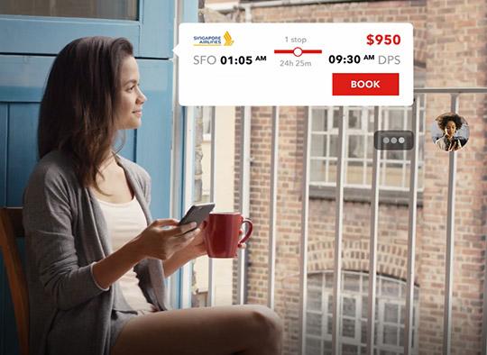 Kadr z filmu reklamowego Flyex