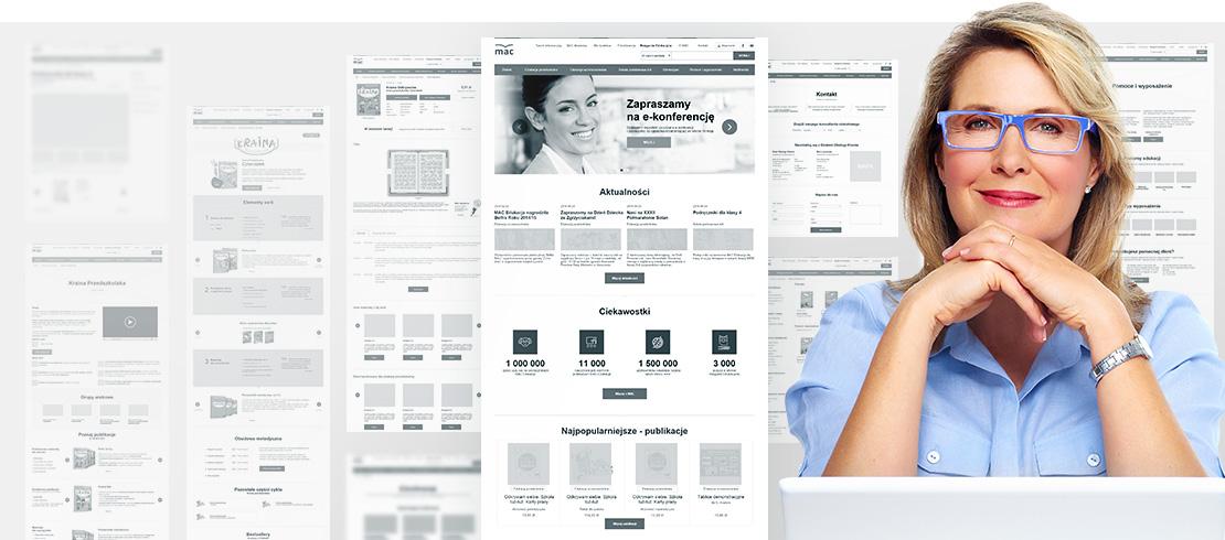 Strona internetowa MAC