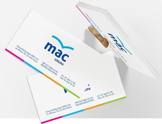 Wizytówki MAC