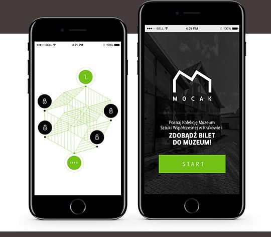 Mobilna aplikacja MOCAK