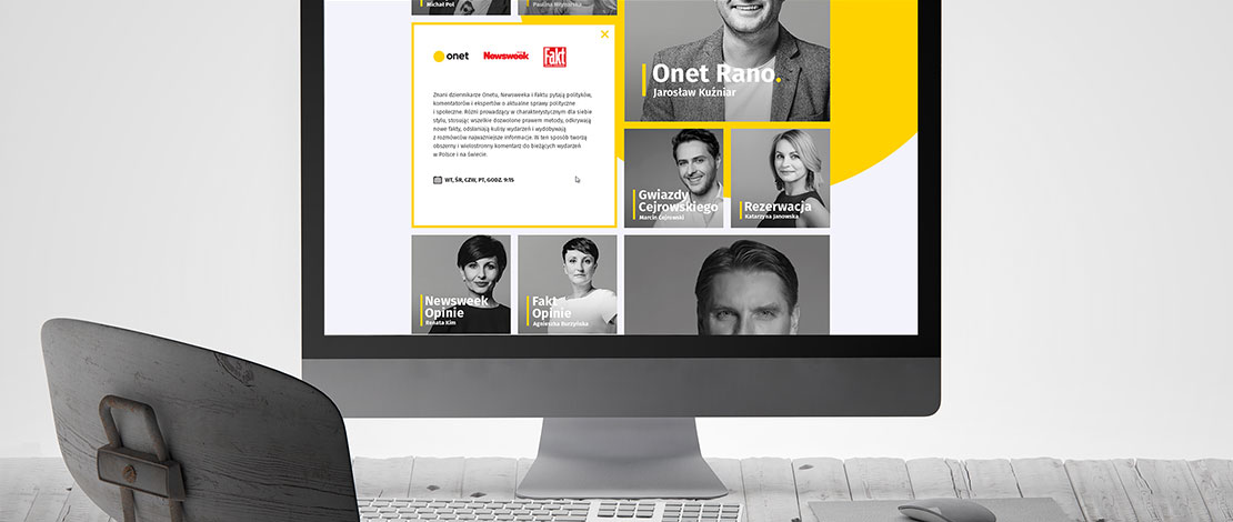 Onet strona internetowa