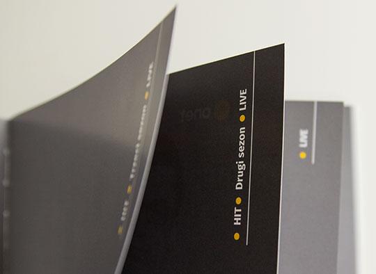 Onet - książeczka z ramówką