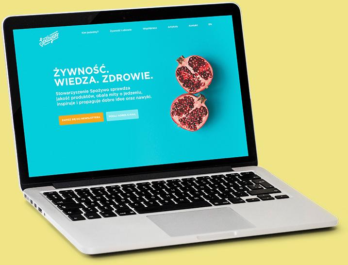 Strona internetowa Spożywo