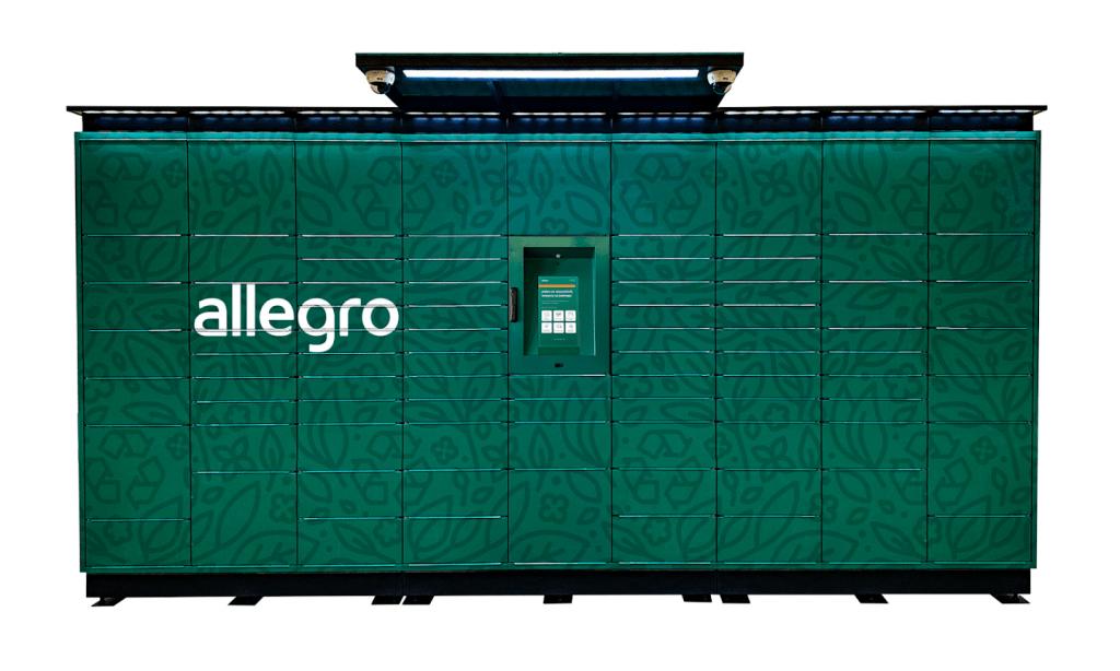 allegro maszyna paczkowa