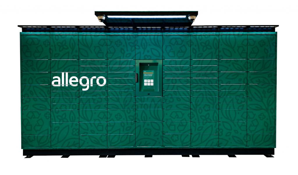automat paczkowy allegro
